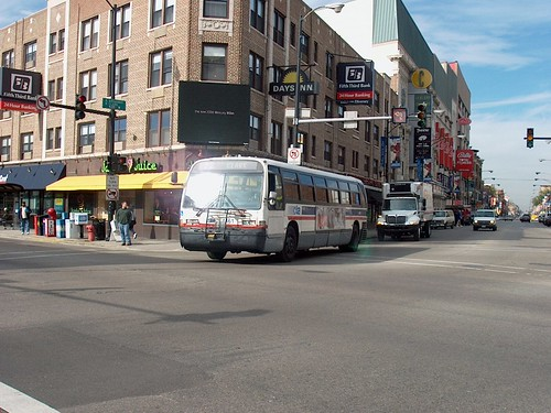 Southbound CTA Route # 22 Clark Street bus. Chicago Illinois. October 2006. by Eddie from Chicago