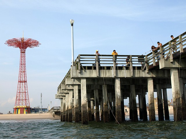 Coney island fishing pier brooklyn new york city flickr for Atlantic city fishing pier