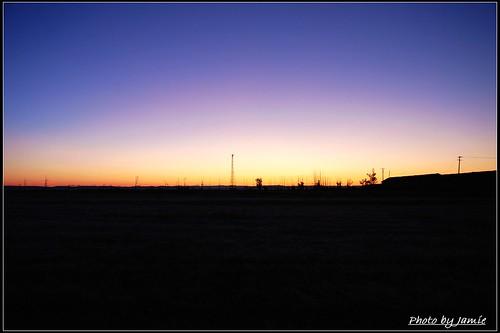 内蒙古 十月 达里湖 贡格尔草原 阿斯哈图石林 勃隆克沙漠 梵宗寺