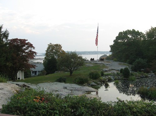 View of Mystic River from Mystic Inn