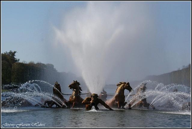 Petit parc du ch teau de versailles bassin d 39 apollon flickr photo sharing - Bassin en cuivre versailles ...