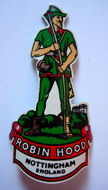 Raleigh Bicycle Head Badge Robin Hood Radford Nottingham