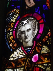 Arts & Crafts Early 20th Century Stained Glass
