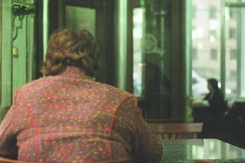 lady in the tweed jacket