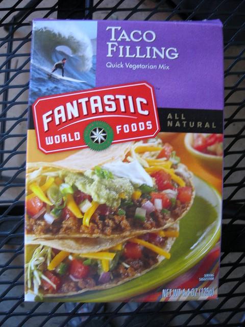 Fantastic World Foods vegan taco filling | I love this stuff ...