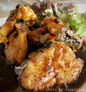 Deep Fried Fish With Black Bean Sauce