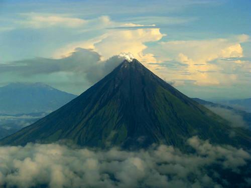 Moving Back a Bit over Legaspi