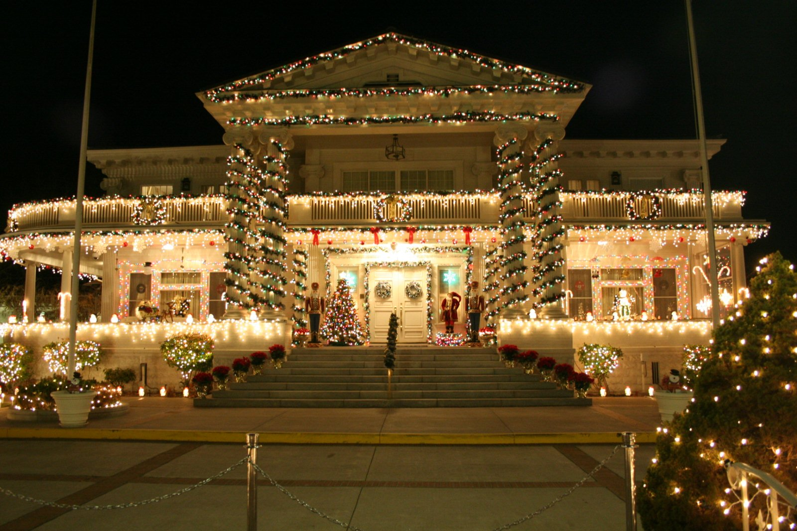 governors mansion christmas
