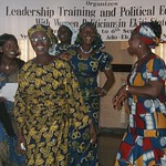 Nigeria, Leadership Training with Women Politicians, 2008