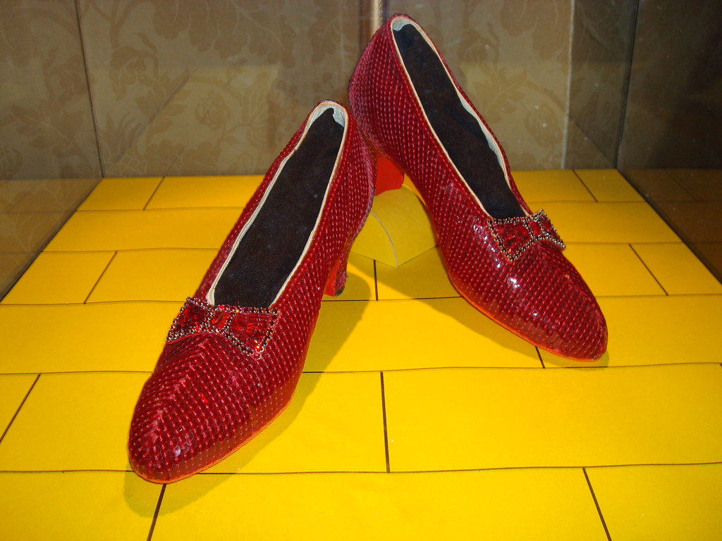 Red Shoes Significance Wizard Of Oz