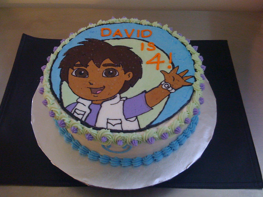 Boys Birthday Cake Diego