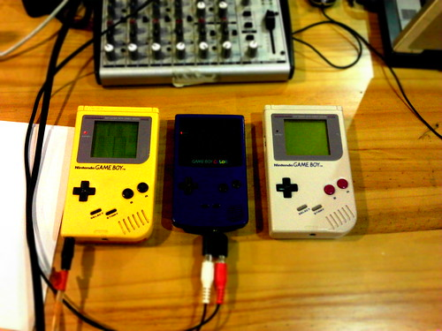Gameboy party
