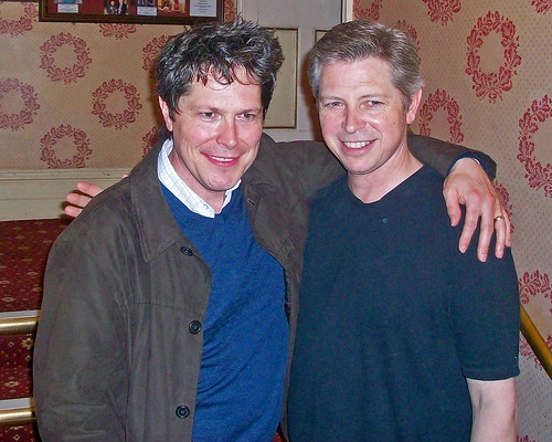 Neil Roberts and Stephen Rashbrook at Devonshire Park Theatre Eastbourne