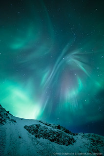 The Butterfly - Aurora Borealis - Iceland