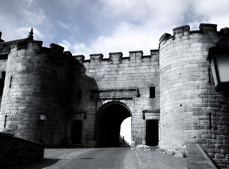 Photography - Stirling Castle Gates by Nicholas M Vivian