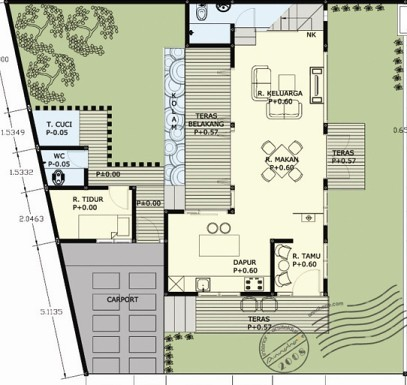 all sizes gambar desain rumah villa munggil denah lantai