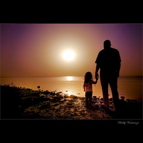 sunrise father daughter buddy saudiarabia mywinners abigfave platinumphoto goldstaraward alemdagqualityonlyclub budslife buddyventuranza
