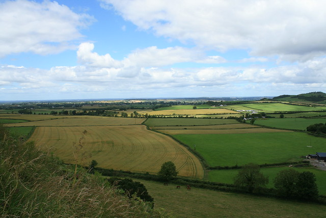 View from the Rock of Dunamase