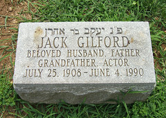 Jack Gilford, 1908-1990