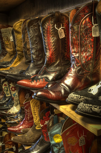 vintage texas boots tx footwear wildwest hdr wimberley cowboyboots photomatix 3exp wildweststore austinistdailyphotoist082508