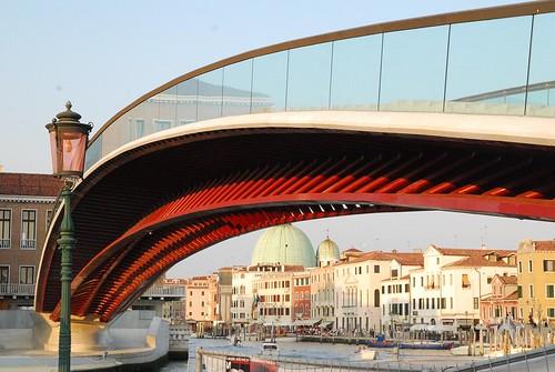 Il ponte di calatrava a venezia marco massarotto for Architetti famosi moderni