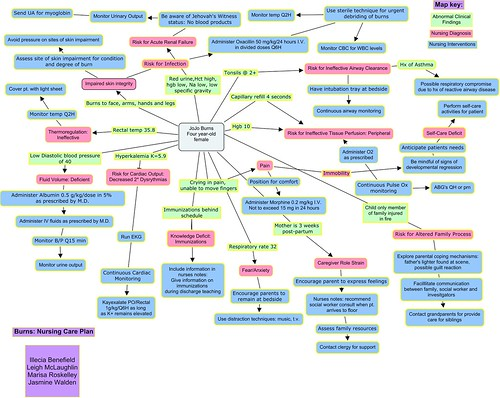 Nursing Concept Mapping Template Nursing Care Plan Concept Map