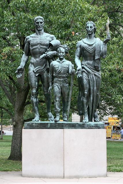 Boy Scout Memorial | Boy Scout Memorial, 1964, Sculptor ...