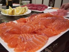 Uncle Beng's Salmon Sashimi