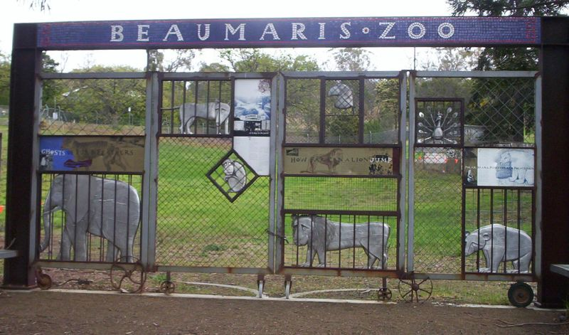 Beaumaris Zoo Gates