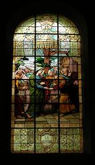 Vitrail de l'église de Lure