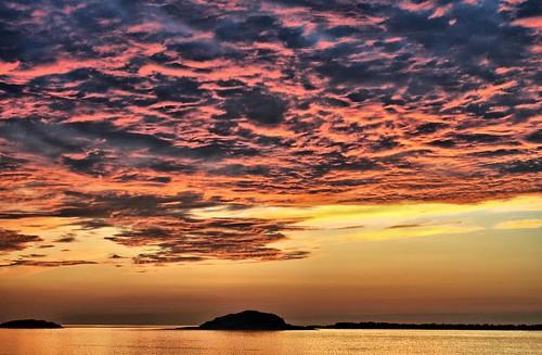 sunset red sea clouds gold fjord ålesund aalesund abigfave anawesomeshot overtheexcellence larigan valderøyfjord phamilton goldstaraward licensedwithgettyimages