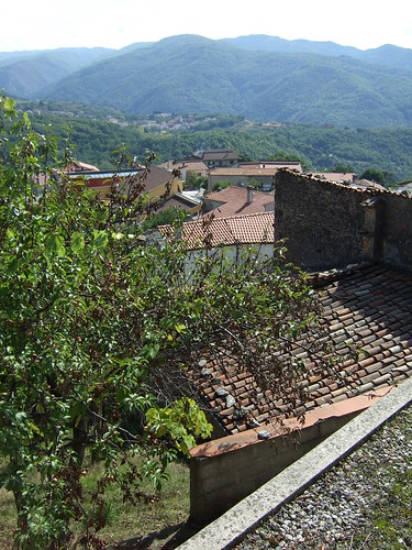 italy view roofs valley calabria claytile belsito familyitalytrip