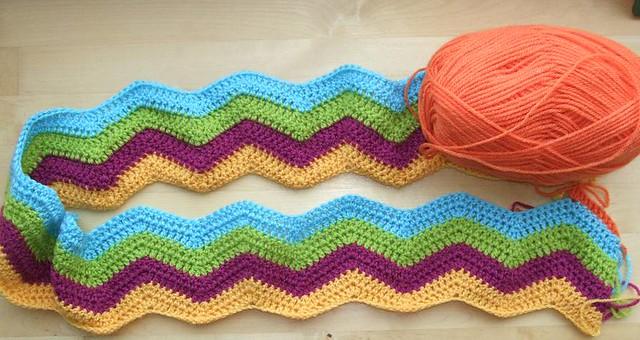 Easy Ripple Crochet Pattern Crochet And Knitting Patterns