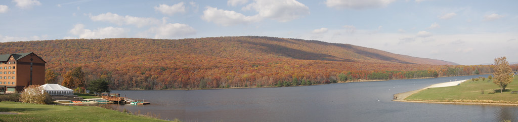 Rocky Gap State Park, Lake Habeeb 1 Nov 2008 1