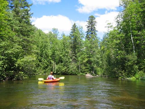 Kayaking the Brule River