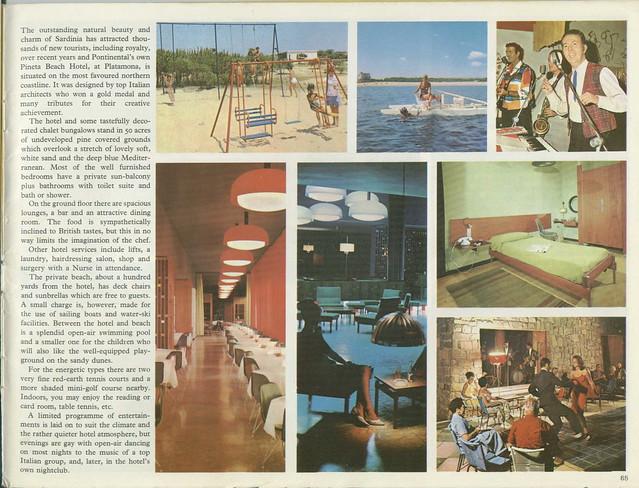 Pontins Brochure 1972 - Pineta Beach Sardinia