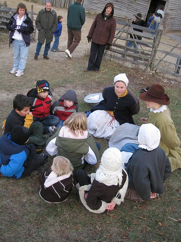 pilgrims and thanksgiving history
