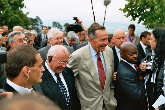 Gorbatschow und Bush Senior