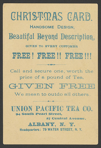 Union Pacific Tea Company XmasCard 2