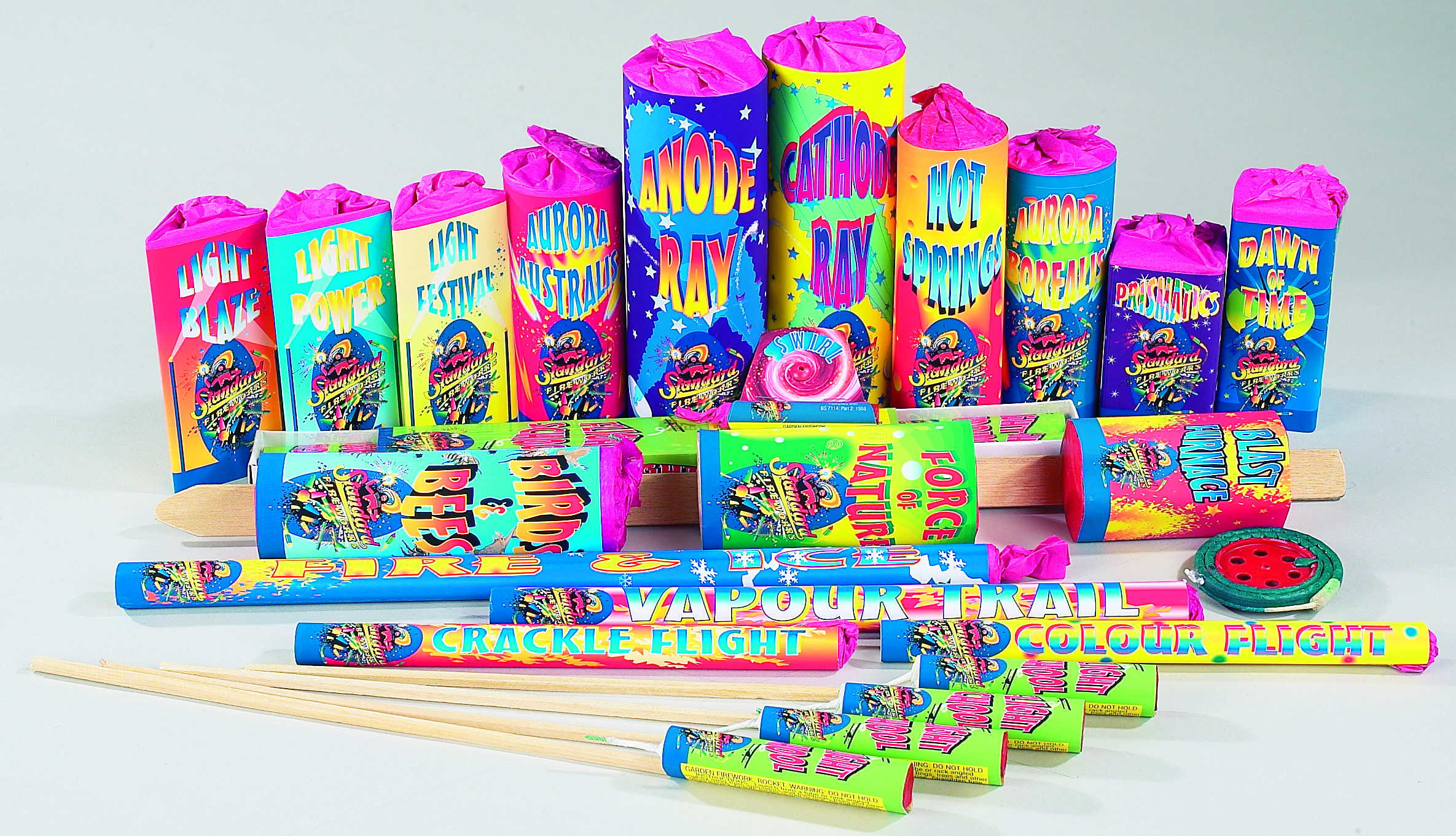 Magical Theatre Selection Box by Standard Fireworks ...