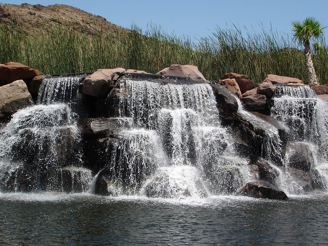 Waterfall In Henderson Nevada Flickr Photo Sharing