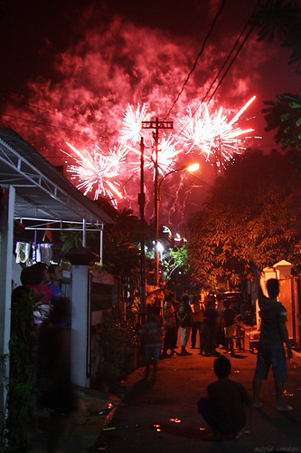 new year's eve in my kampung