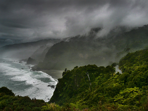 New Zealand, South Island, west coast