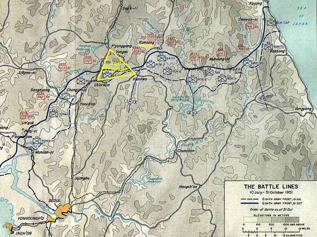 1951 地图