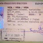 Croatia: visa and stamp