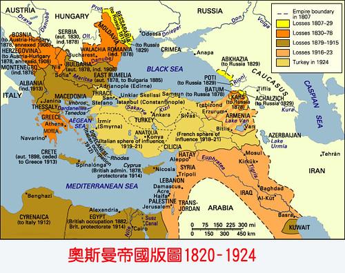 一战前后的欧洲版图