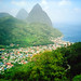 Soufriere And The Pitons