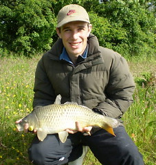 Andrew 7lb 8oz Common on spam over loose fed pellet - 14th June 08