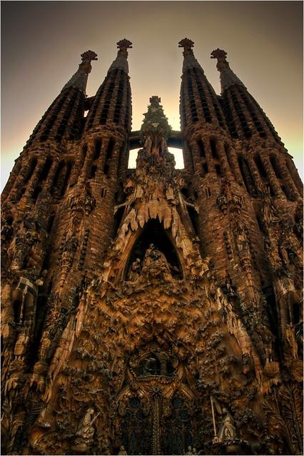Sagrada Familia (HDR)