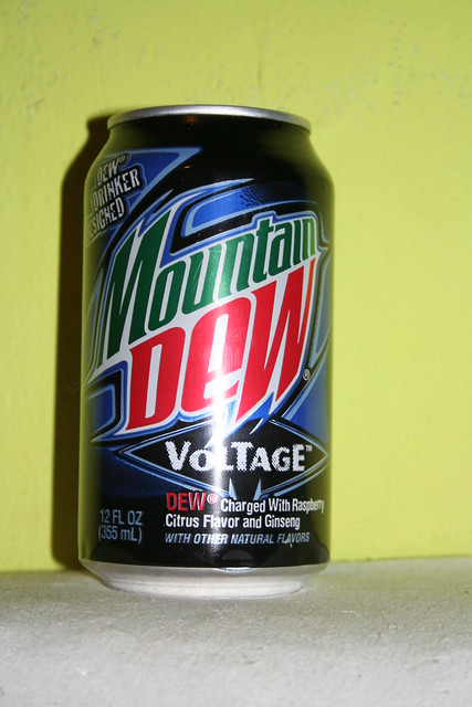 how to make mountain dew voltage